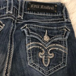 Rock Revival Debbie straight jeans